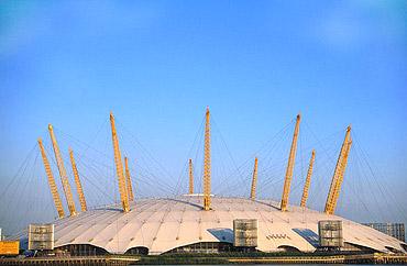 купол тысячелетия в Лондоне, архитектор Ричард Роджерс