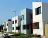 социальные дома в Оксли-Парке, архитектор Ричард Роджерс